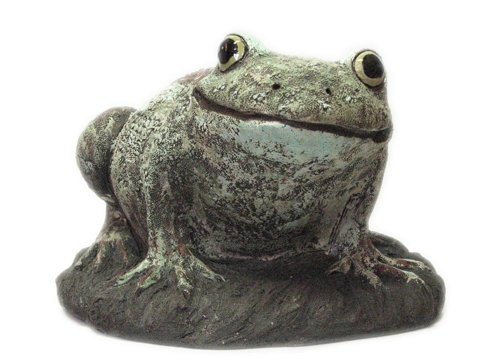 Keramikk frosk